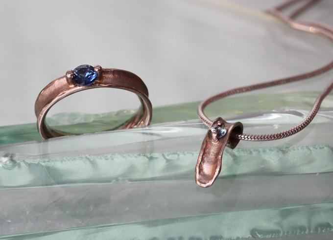 Devi ring met edelsteen