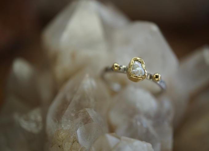 Ringen zilver en goud 11