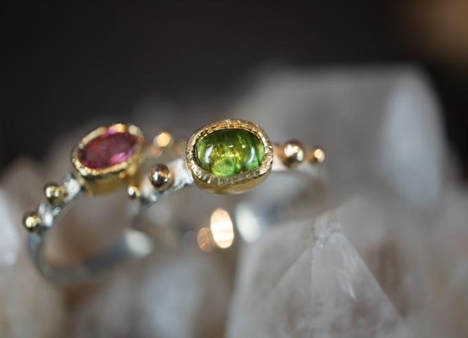 Ringen zilver en goud 13