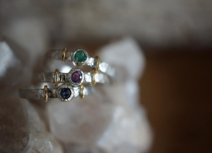 Ringen zilver en goud 3