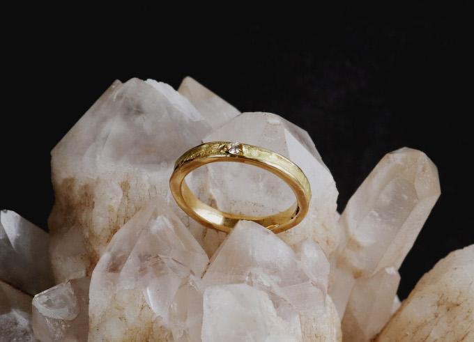 Verlovingsring Raffia